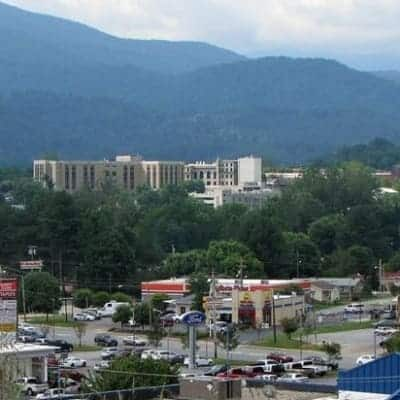 Downtown Waynesville, Brookside Mountain Mist Inn