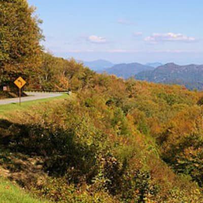 Blue Ridge Parkway, Brookside Mountain Mist Inn