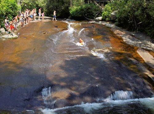 Waterfalls, Brookside Mountain Mist Inn