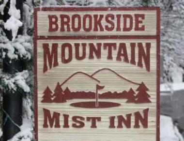 Winter at Brookside, Brookside Mountain Mist Inn
